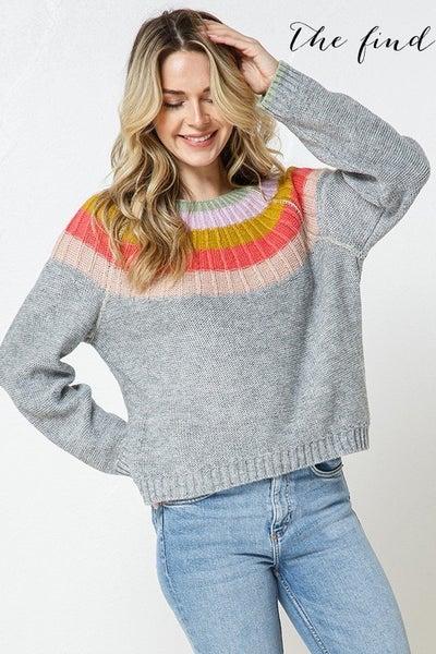 Rowan Sweater in Gray