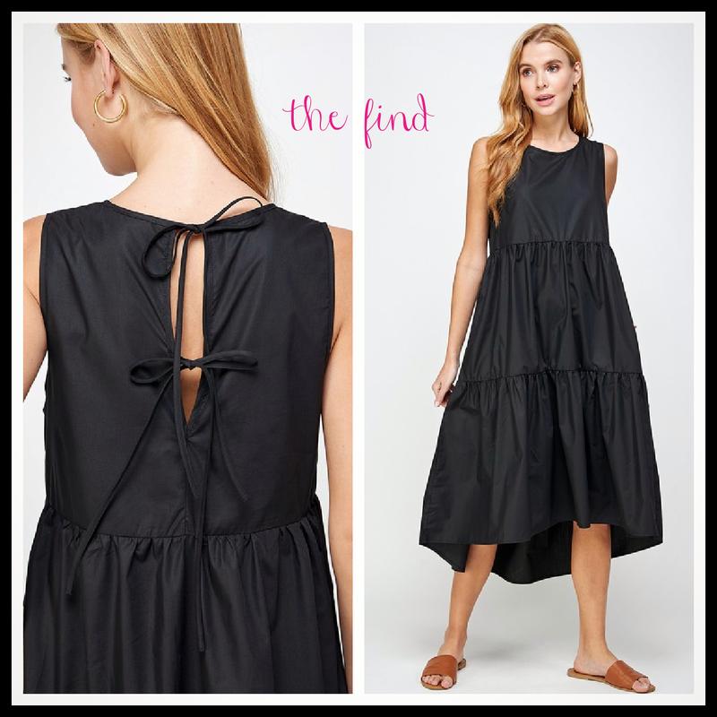 Eleanor Dress in Black