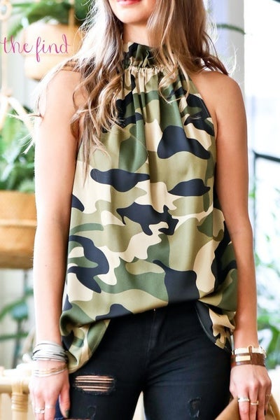 Williams Camo Top