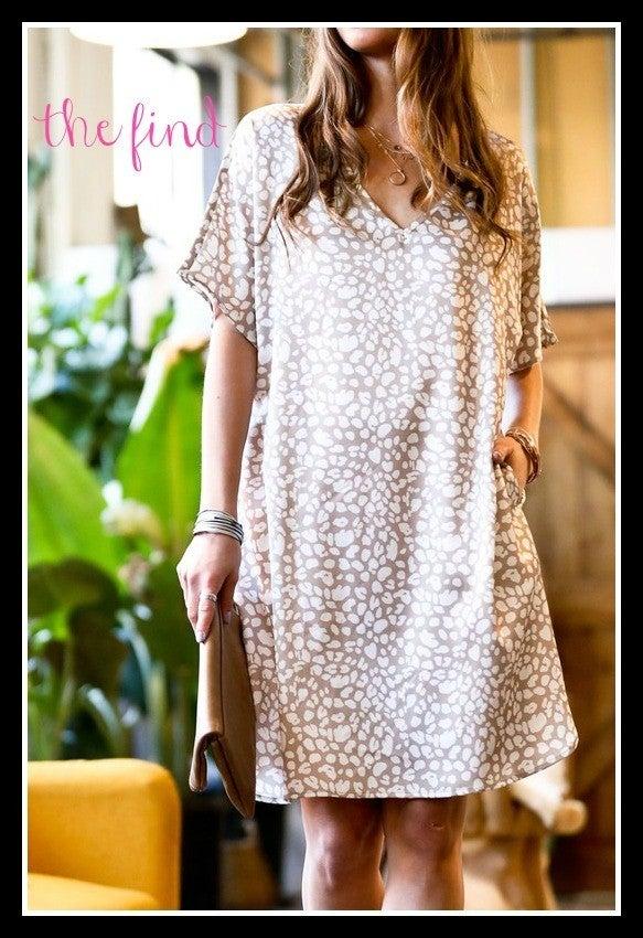 Merritt Leopard Dress