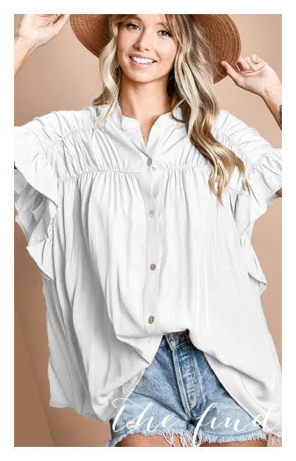 Marshall Top in White