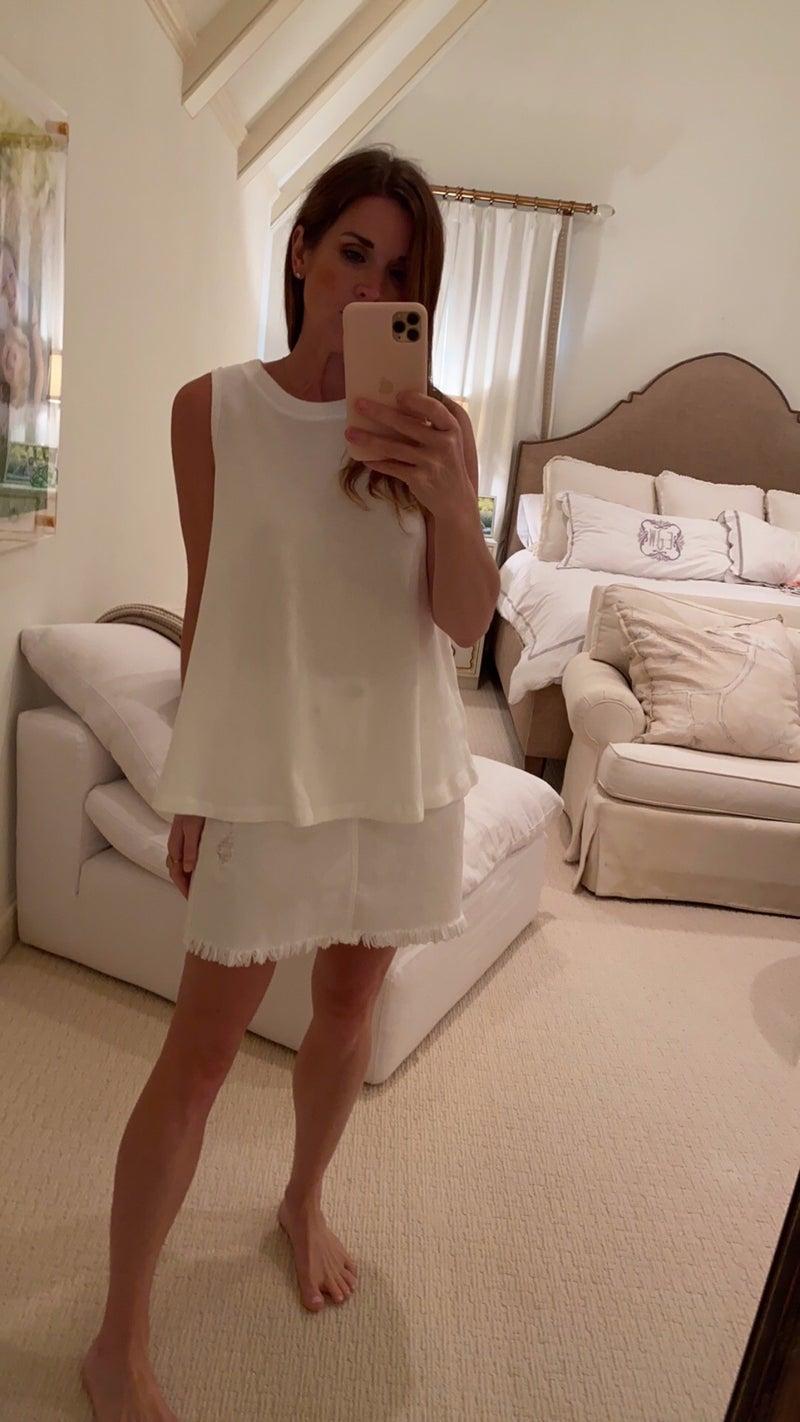 Monica Top in White
