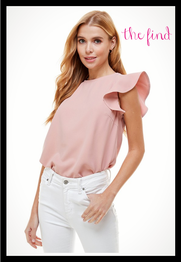 Macey Top in Blush