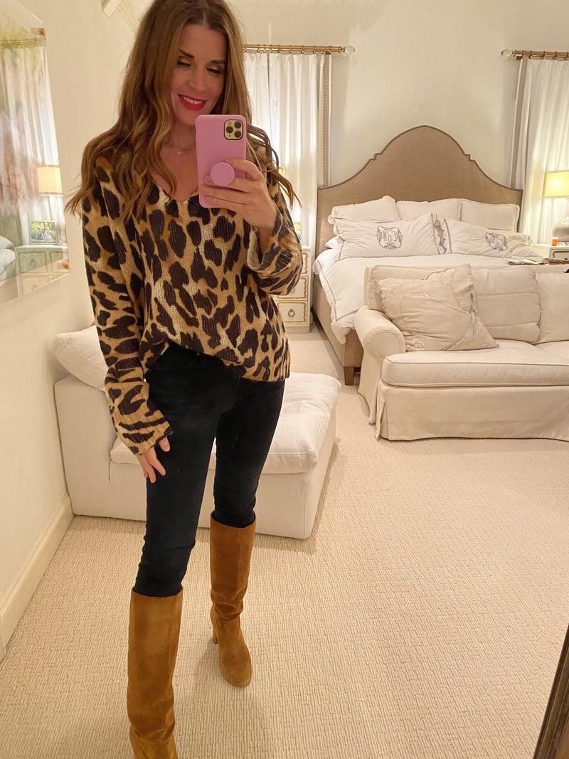 Hayden Leopard Sweater