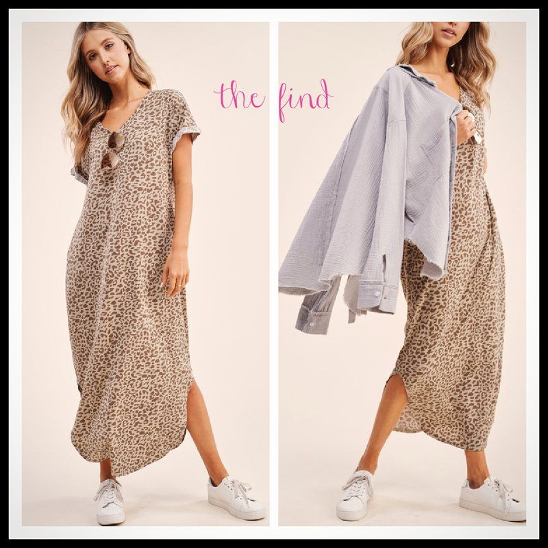 Madison Leopard Dress