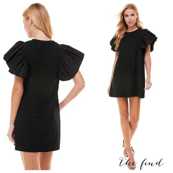 Bentley Dress in Black