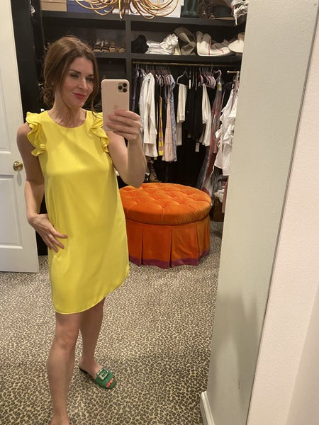 Zoe Dress in Yellow *Final Sale*