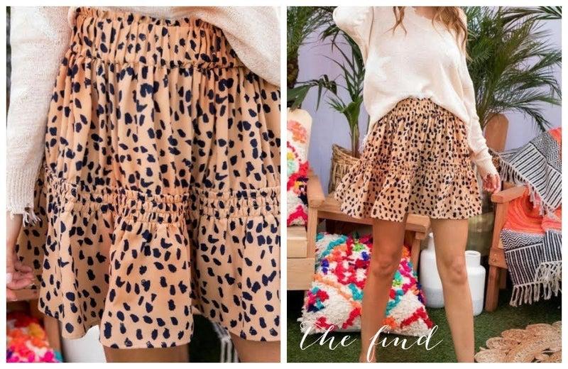Meyer Leopard Skirt