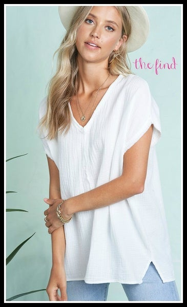 Duncan Top in White