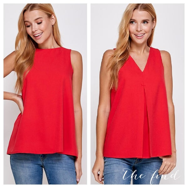 Stella Top in Red