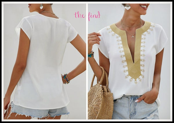 Amelia Top in White
