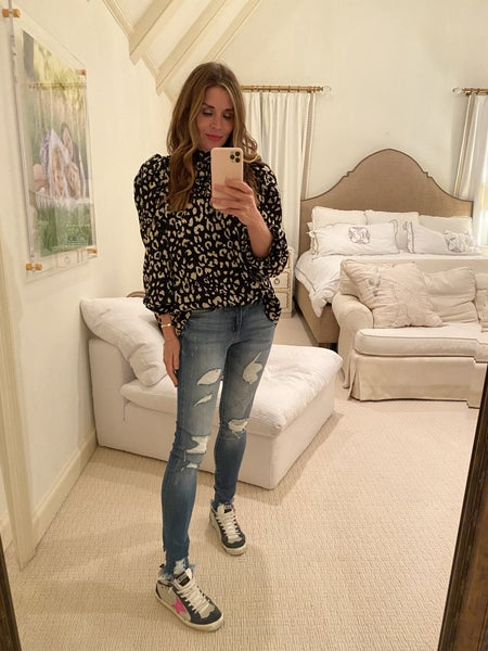Perry Leopard Top