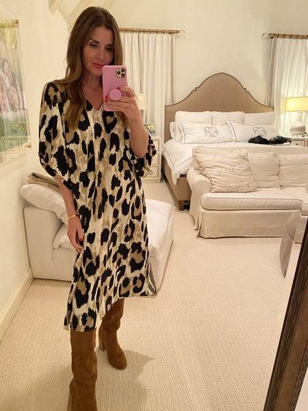 Ashton Leopard Dress