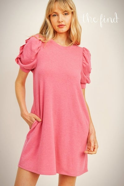 Gibson Dress in Pink