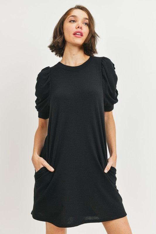 Gibson Dress in Black