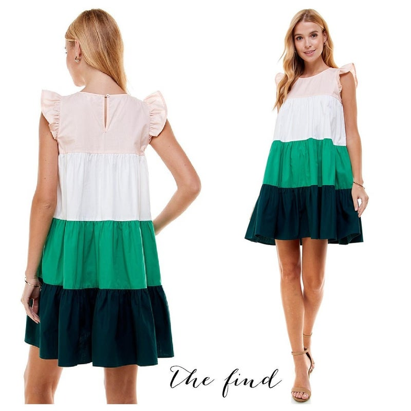 Drew Colorblock Dress