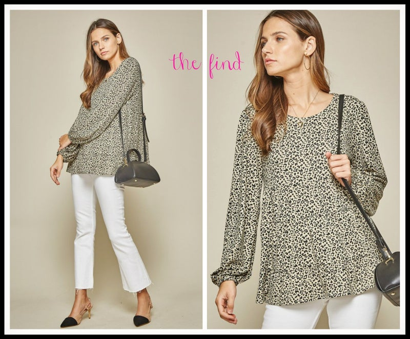 Britton Leopard Top