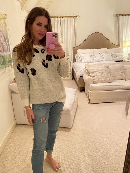 Mills Leopard Sweater