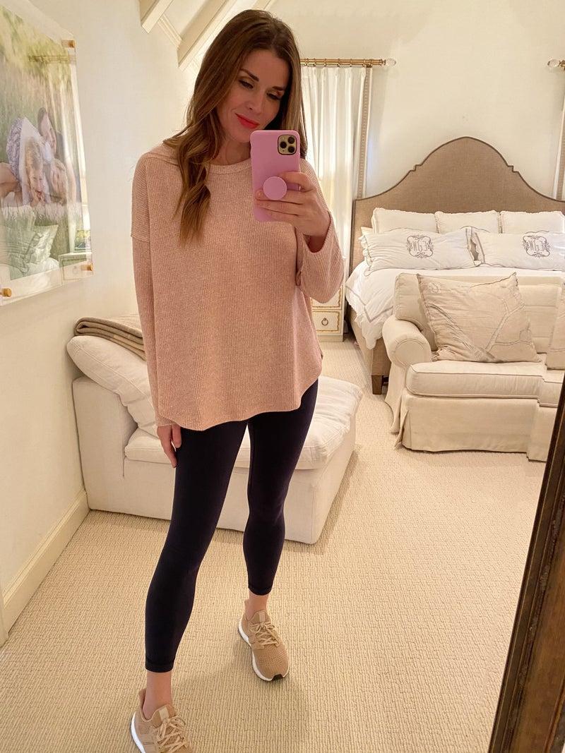 Megan Top in Pink