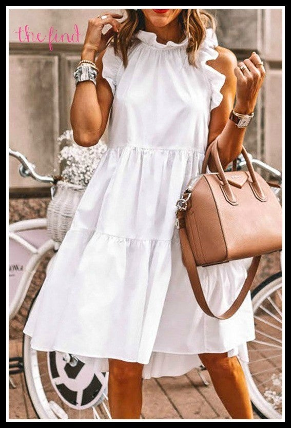 Tanner Dress in White *Final Sale*