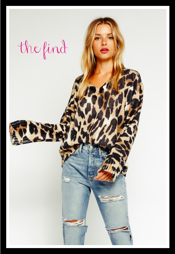 Hayden Leopard Sweater
