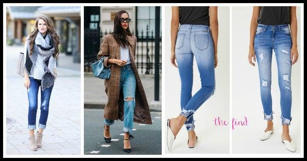 Jordan Distressed Jeans