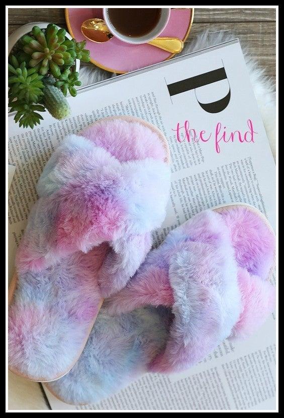 Coco Slippers in Tye Dye