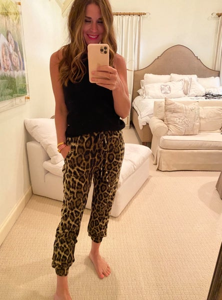 Oli Leopard Joggers