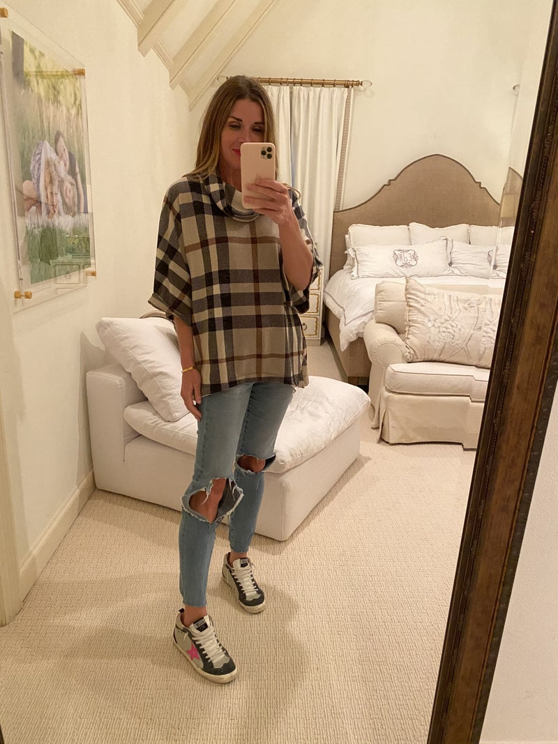 Jones Plaid Top