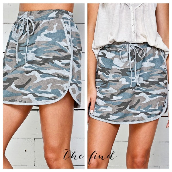 Harlan Camo Skirt