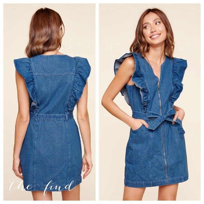 Rachel Denim Dress