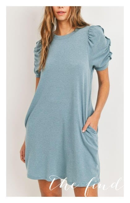 Gibson Dress in Teal