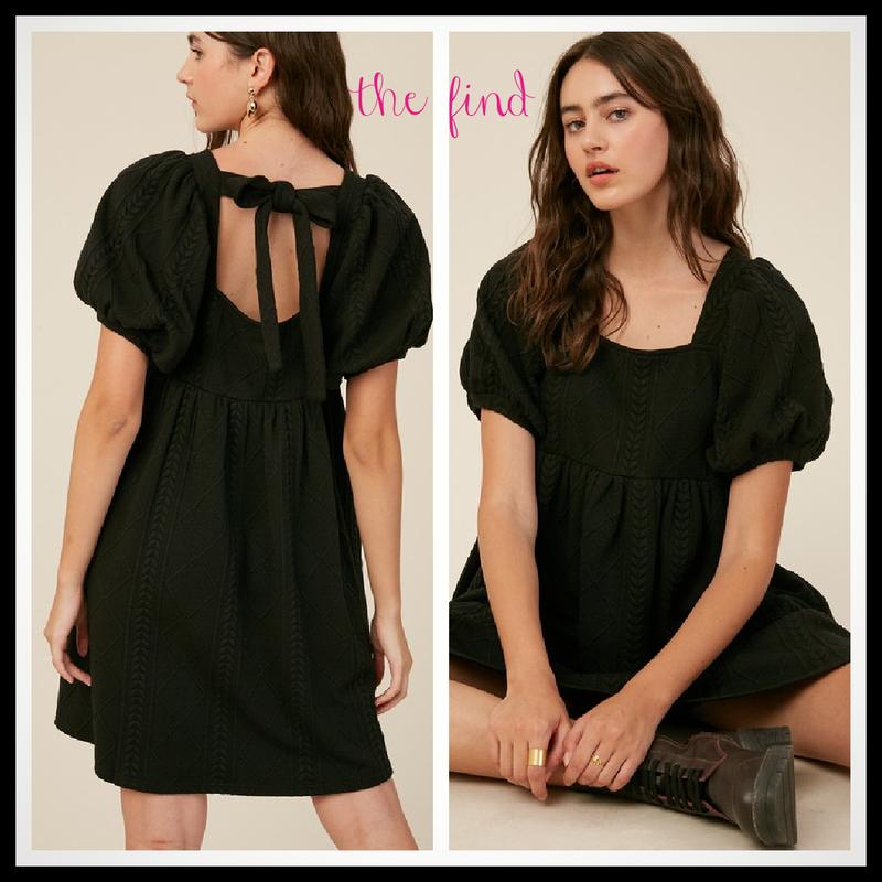Katherine Dress in Black