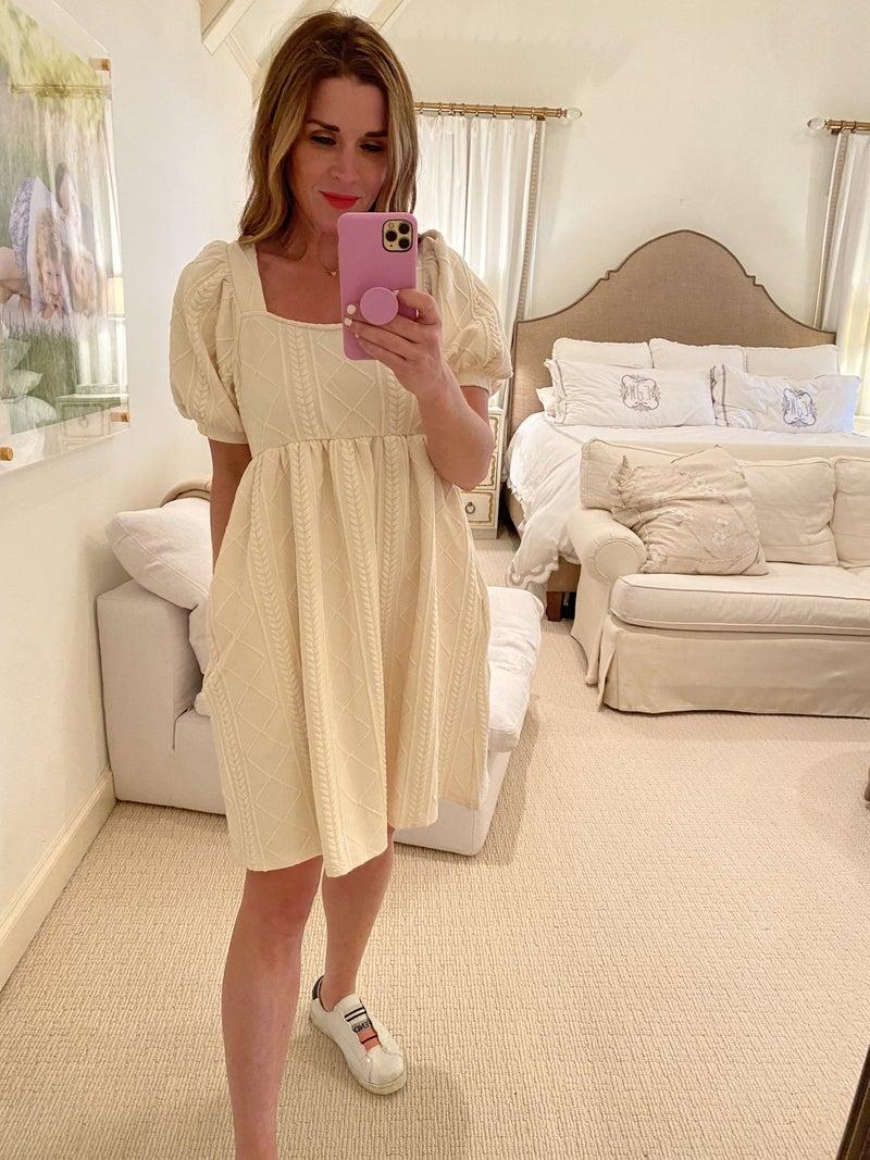 Katherine Dress in Ivory