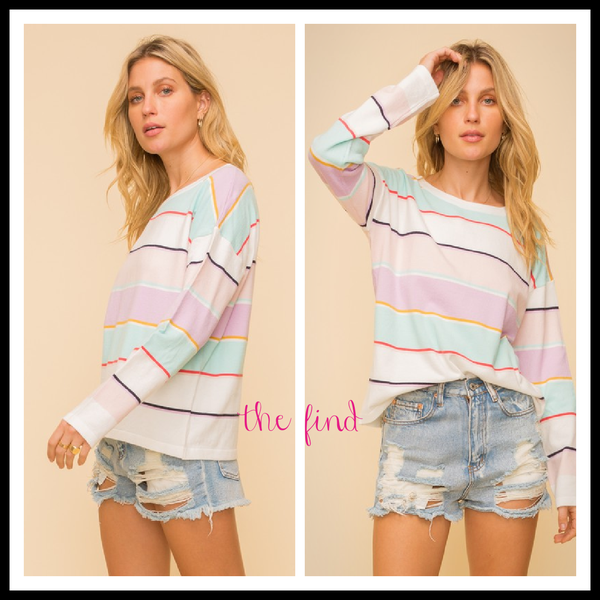 Logan Striped Top