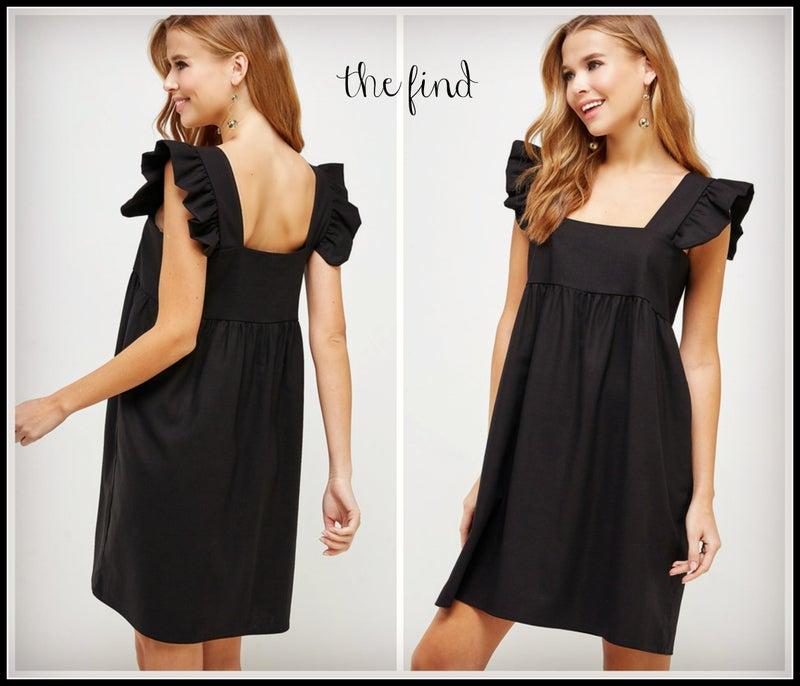 Meredith Dress in Black