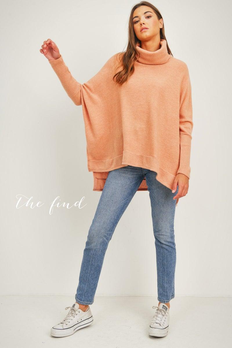 Ainsley Sweater in Papaya