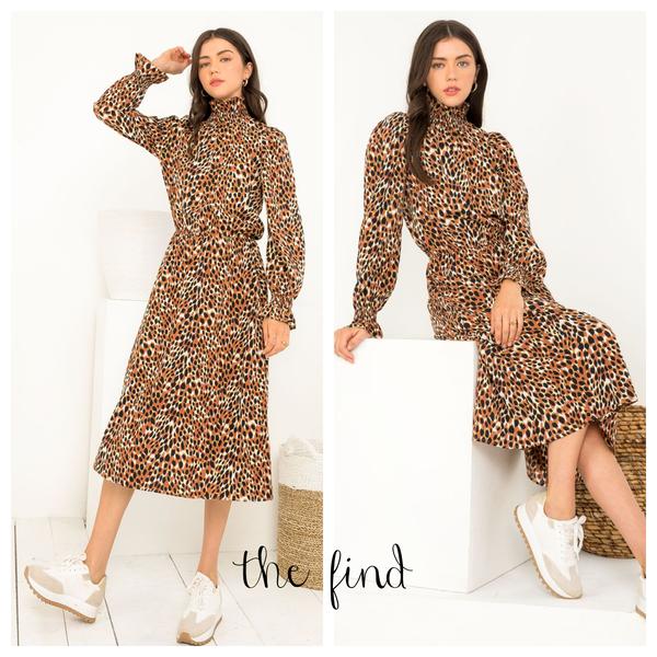 Moore Leopard Dress