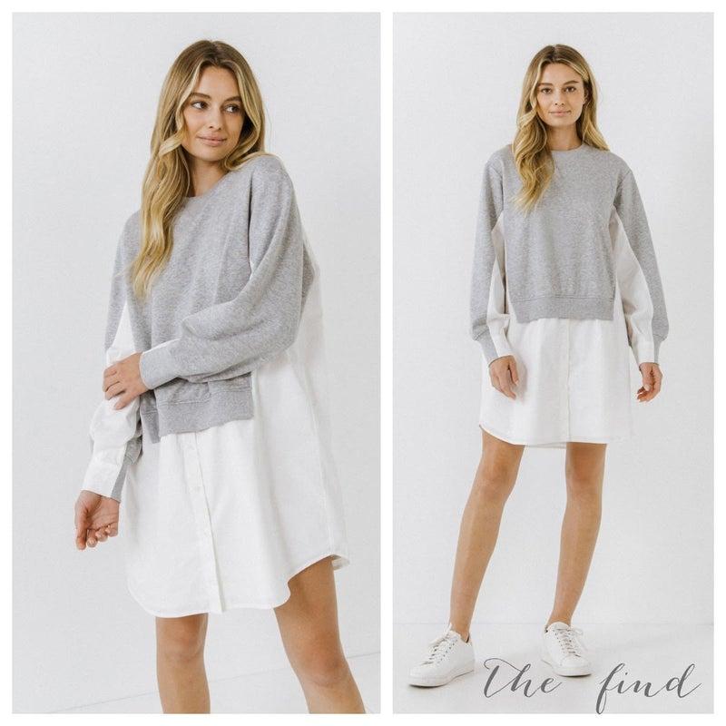 MaryBeth Sweatshirt Dress