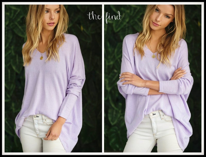 Reed Sweater in Lavender