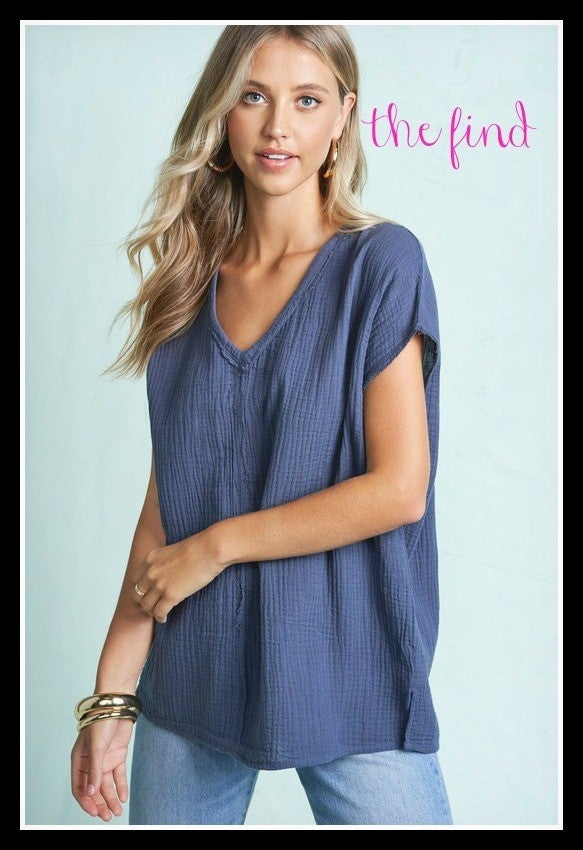 Duncan Top in Blue