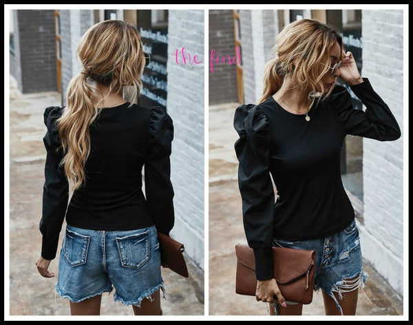 Merritt Top in Black