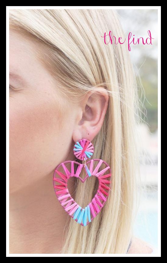 Olivia Heart Earrings