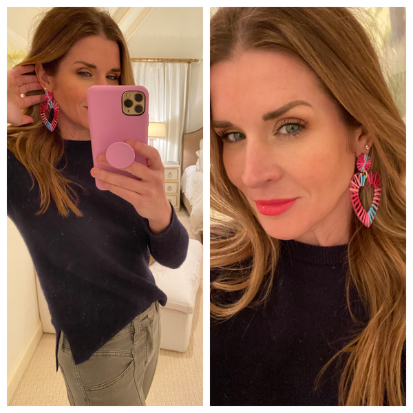 Olivia Heart Earrings