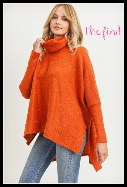 Ainsley Sweater in Brick