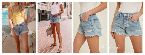 Westwood Jean Shorts