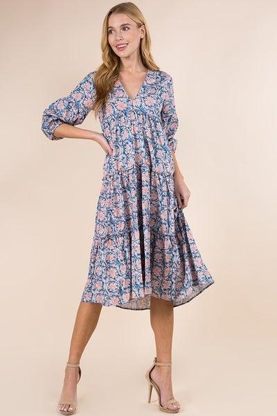 McKinley Dress in Blue