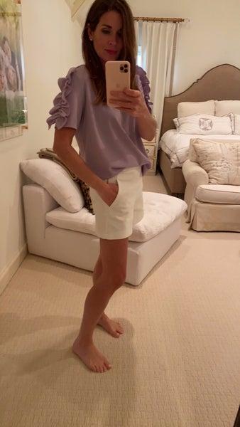 Evann Top in Lavender