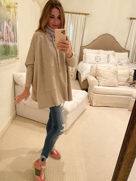 Mandy Sweater in Taupe