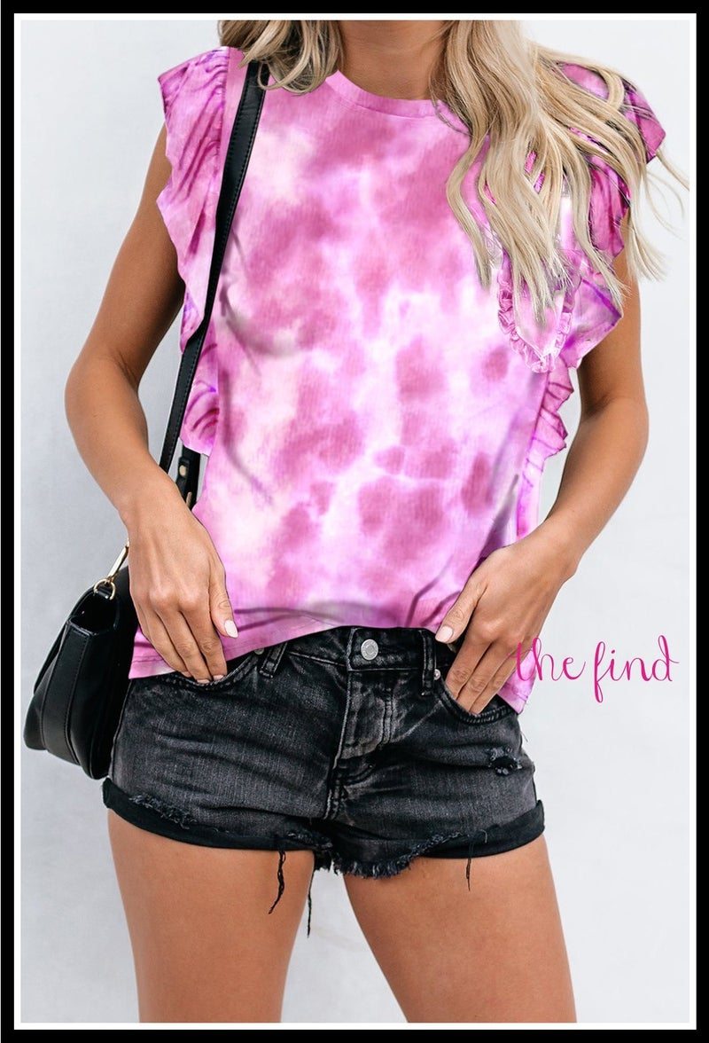 Sheridan Top in Tye Dye